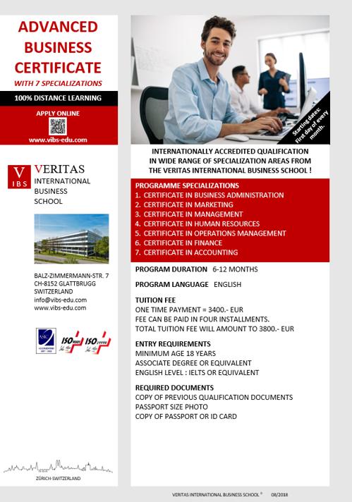 Veritas International Business School